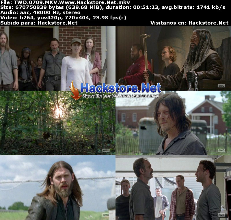 "Capturas de The Walking Dead 7×09 ""Rock in the Road"""