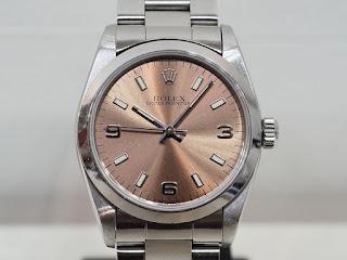 ロレックス ボーイズサイズの腕時計を買い取り致しました REF.67480のT番