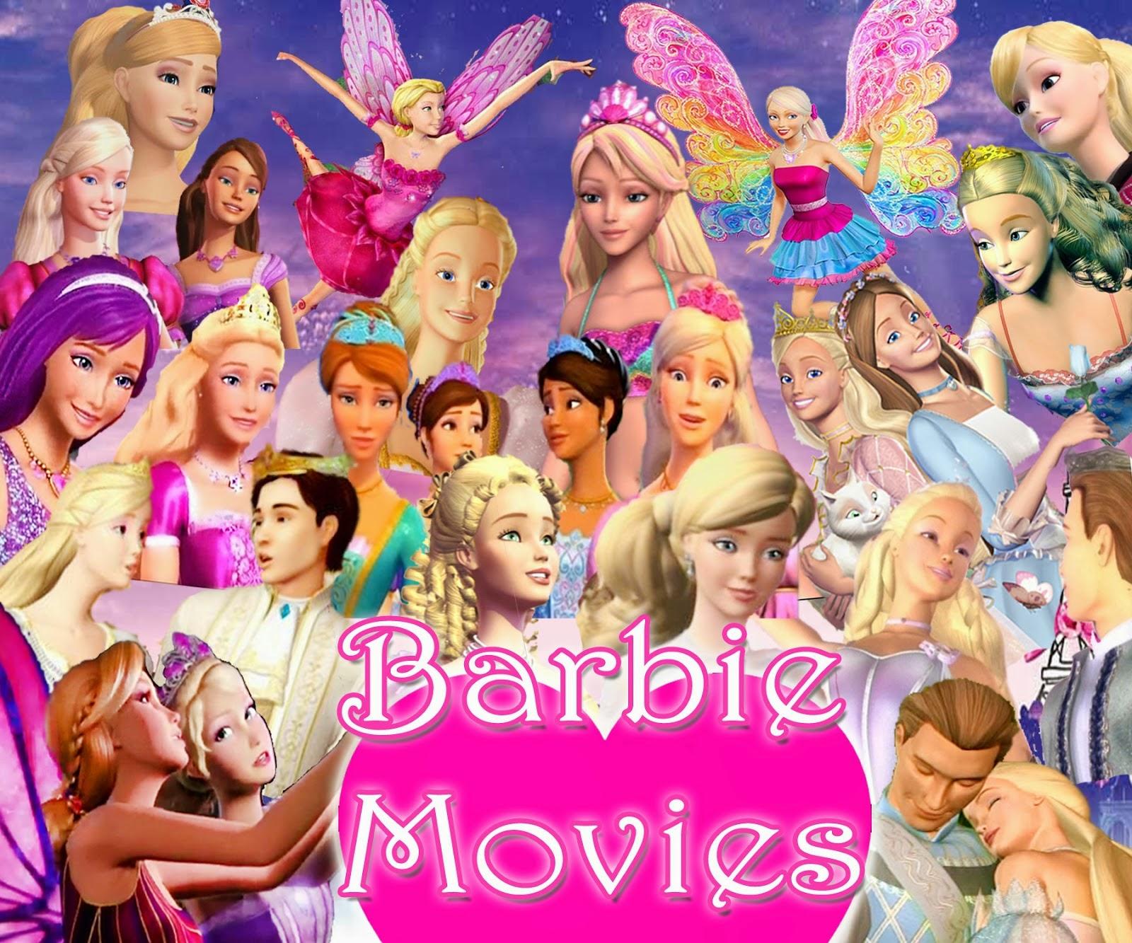 Download - Coleção Filmes da Barbie - DVDRip