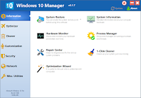Yamicsoft Windows 10 Manager v3.4.7 Full version