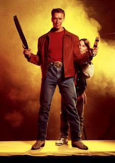 Imagen de Schwarzenegger para la promoción de El último gran héroe