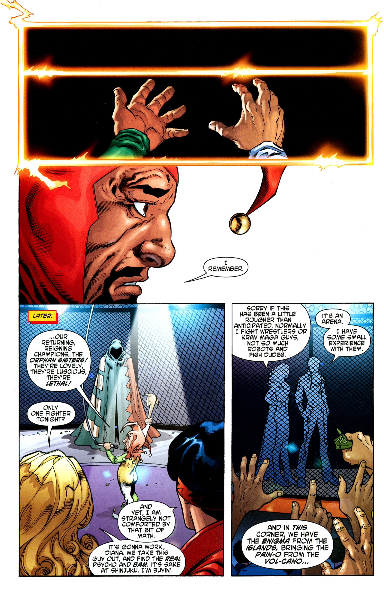 Read online Wonder Woman (2006) comic -  Issue #35 - 11