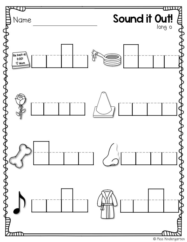 Super CVCe Practice {that tricky magic e!} - Miss Kindergarten