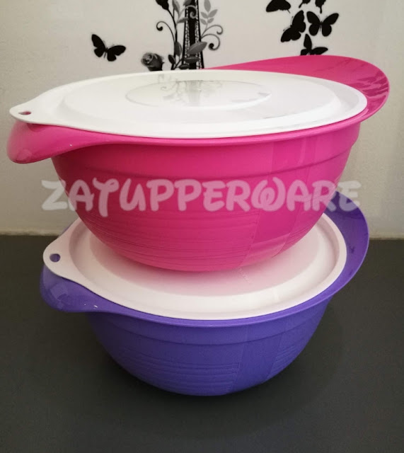 Tupperware Pretty Pastel Large (2) 3.5L