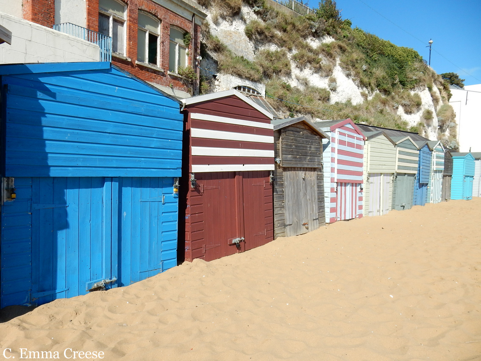Best beaches near London Broadstairs Viking Bay