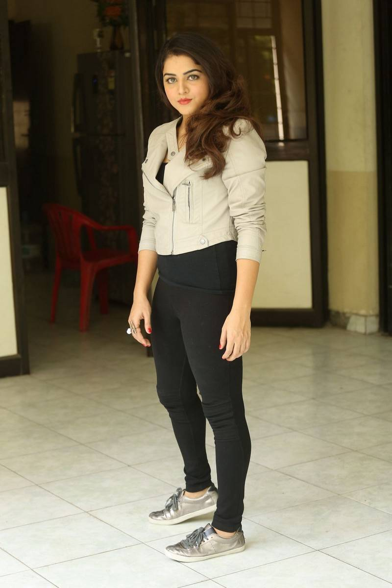Wamiqa Gabbi Latest Photos In White Dress
