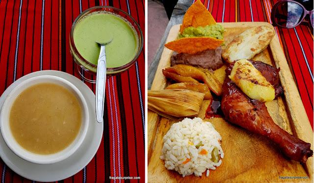 Pollo criollo, prato típico da Guatemala