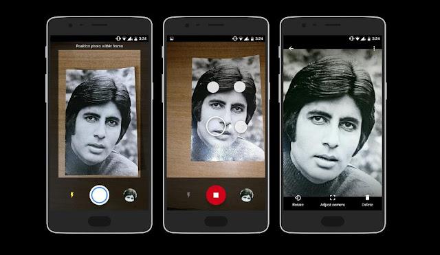 جوجل تطلق تطبيق لتحسين جودة الصور القديمة باحترافيه