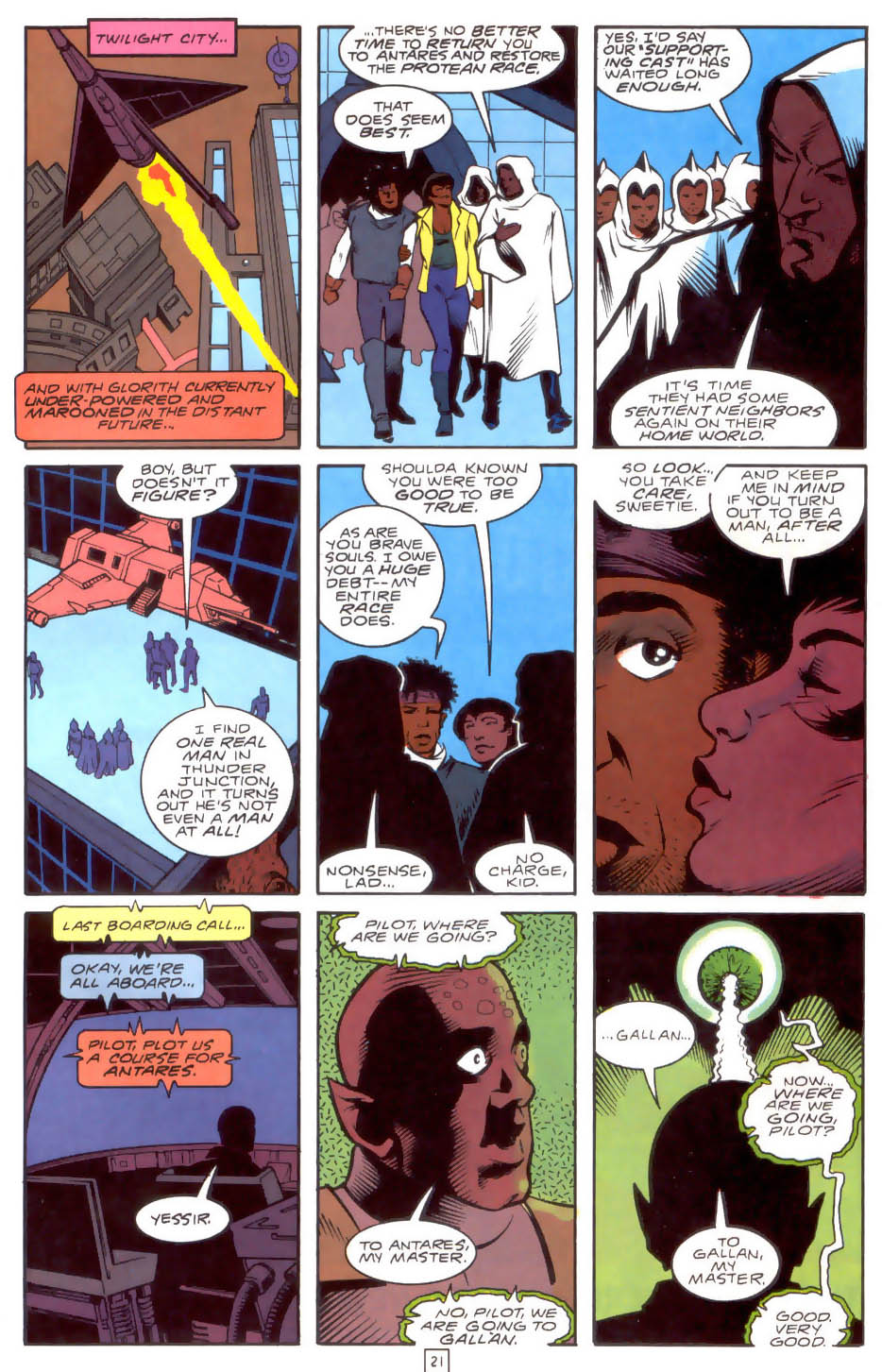 Legion of Super-Heroes (1989) 33 Page 21