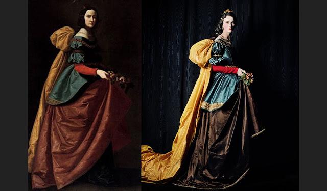 Exposição Vogue Like a Painting, quadro referência