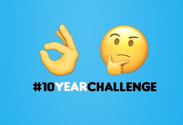 Why #10YearChallenge Makes Sense