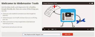 Cara Mendaftarkan Blog ke Google Webmaster Tools