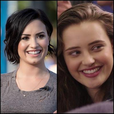 Demo Lovato and Katherine Langford