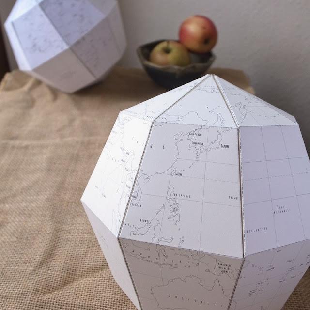 DIY Globo de papel