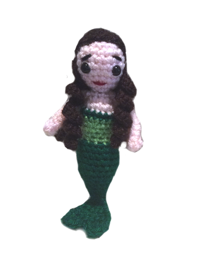 Coral the Mermaid (Free Amigurumi Crochet Pattern) | Disney ... | 528x400