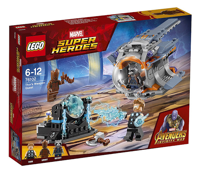 LEGO Marvel Super Heroes Infinity War Thor's Weapon Quest