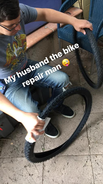 My Husband the Bike Repair Man