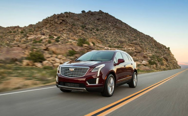 2017 latest Cadillac XT5 Platinum AWD audit