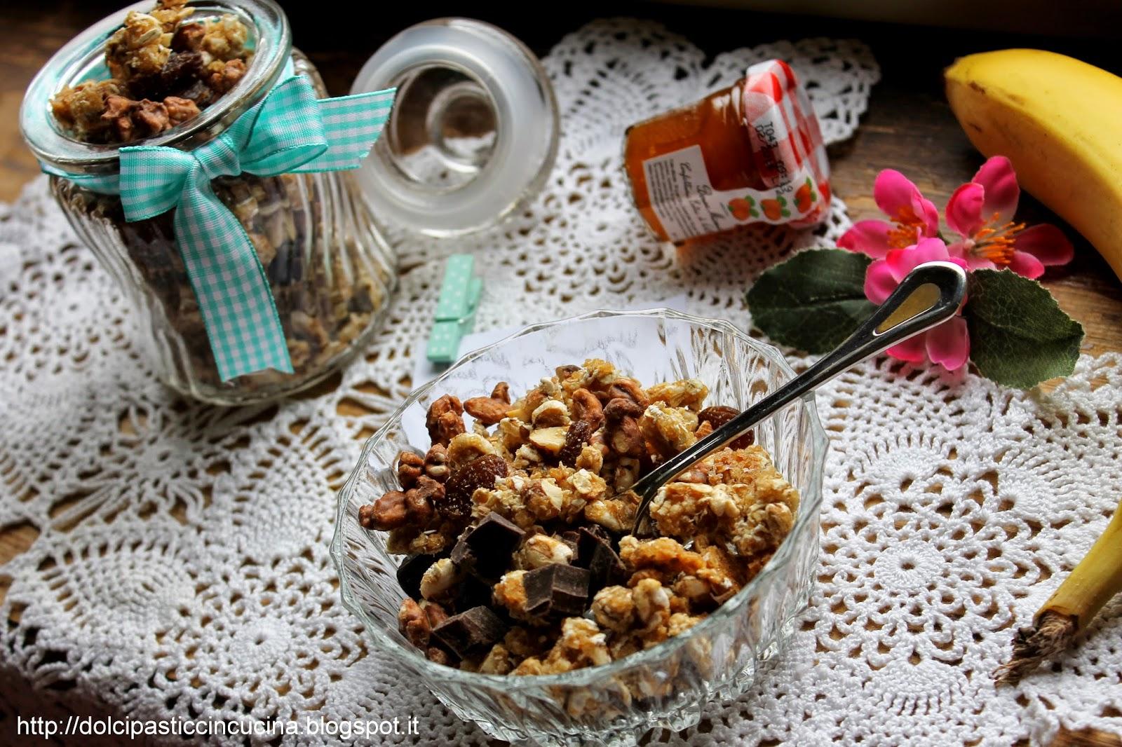 muesli granola ricetta