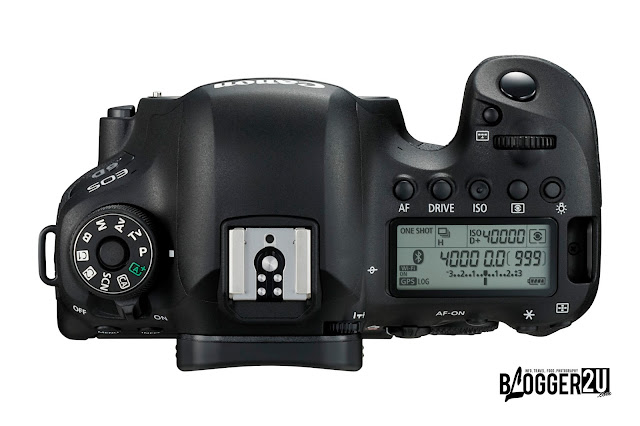 Canon EOS 6D MARK II Interface