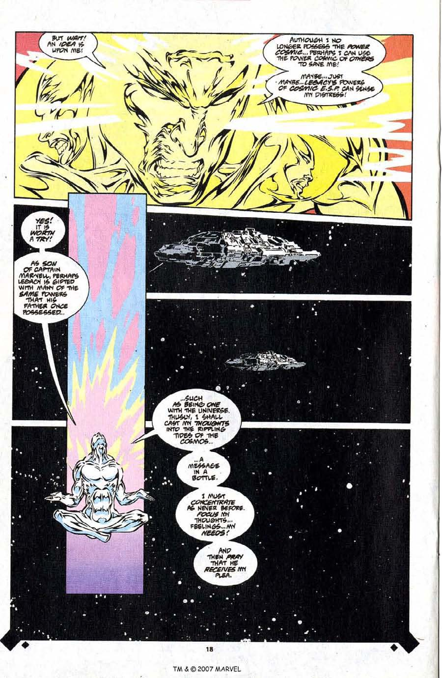 Read online Silver Surfer (1987) comic -  Issue #107 - 20