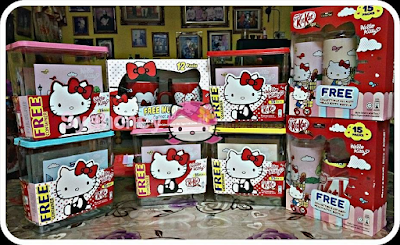 Malaysia premiums KitKat Sharebags FREE Hello Kitty