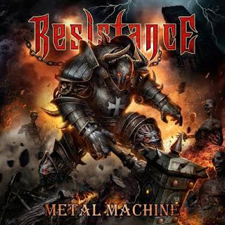 """Το lyric video των Resistance για το τραγούδι """"The Metal Machine"""" από τον ομότιτλο δίσκο τους"""
