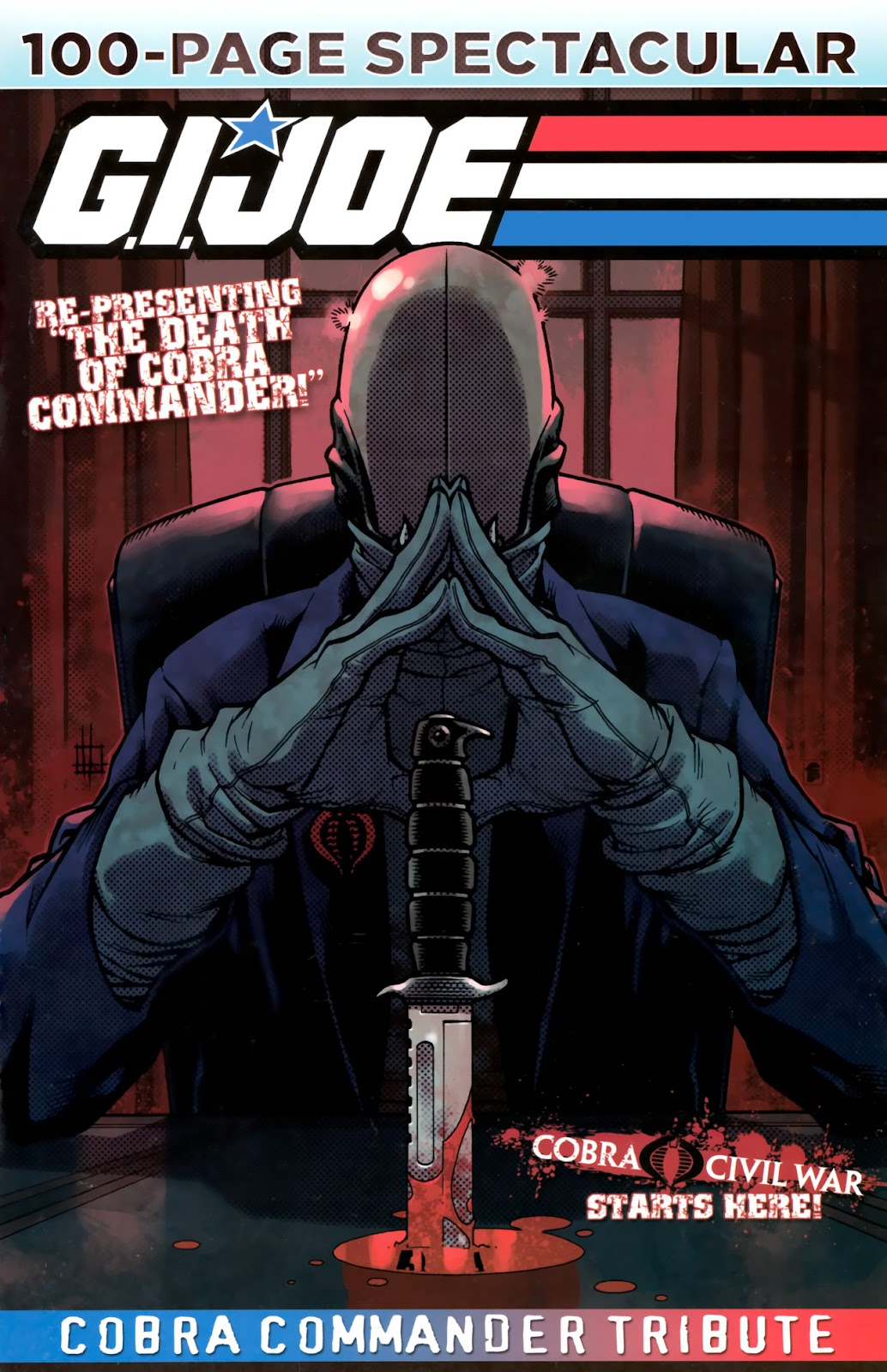 Read online G.I. Joe: Cobra Commander Tribute - 100-Page Spectacular comic -  Issue # TPB - 1