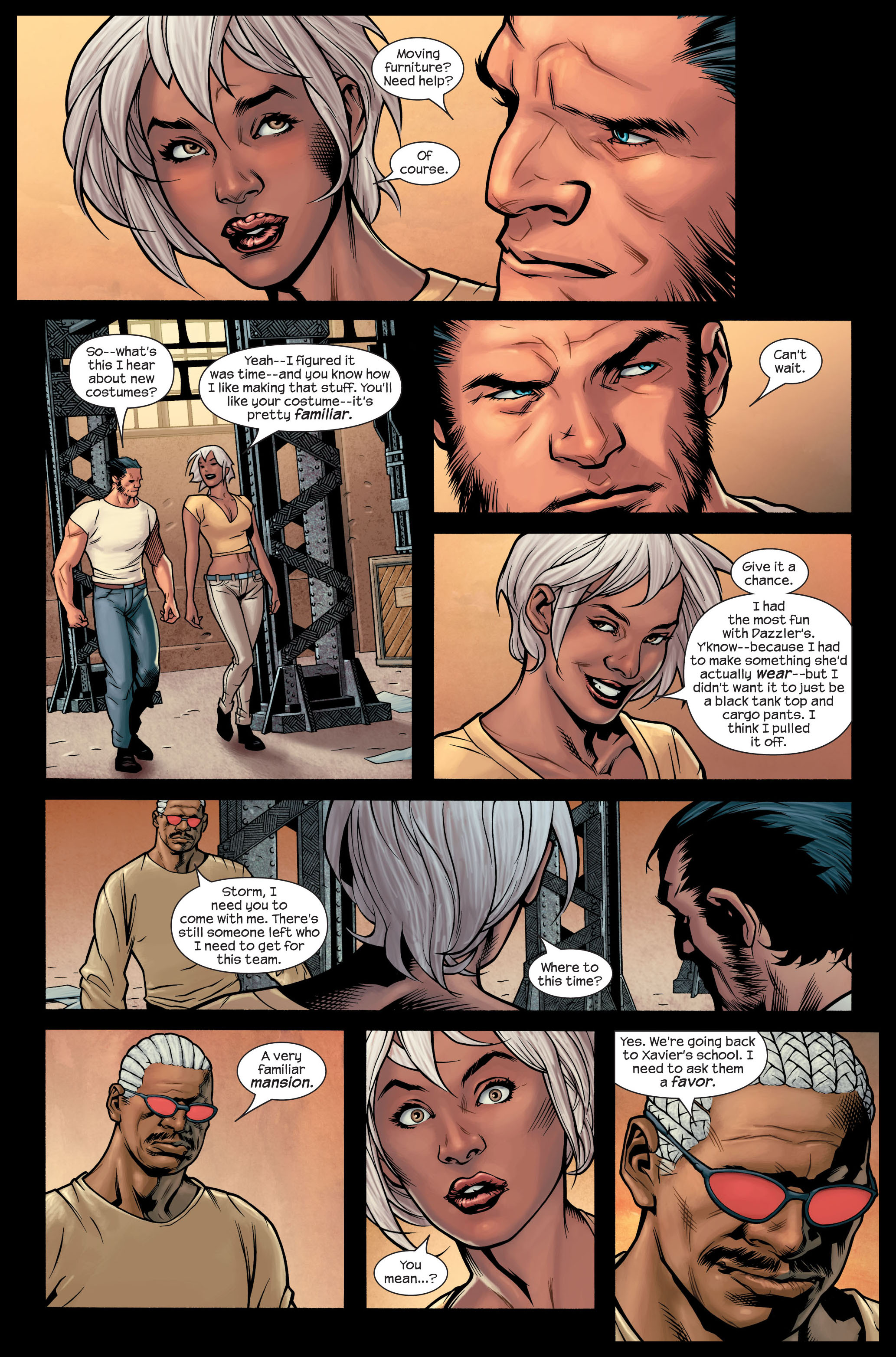 Read online Ultimate X-Men comic -  Issue #84 - 16