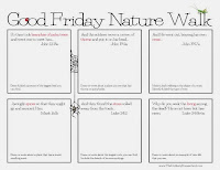 Good Friday Nature Walk {FREE Printable} The Unlikely Homeschool