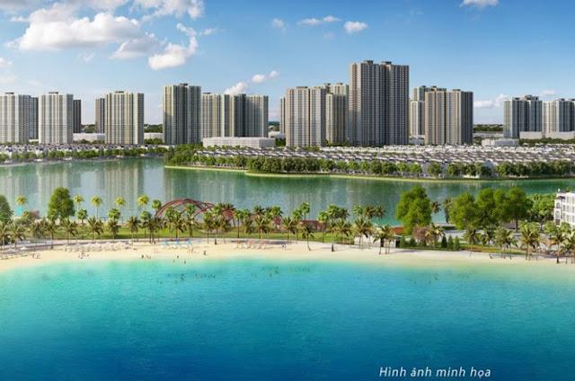 Phân khu The Sea dự án Vincity Gia Lâm