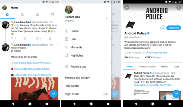 Twitter v7.0 is Live with new Cool Rounded UI, Live Reply, Reply Counters & More