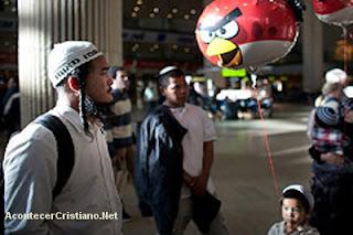 Ttribu perdida de Manasés llegan a Israel desde la India