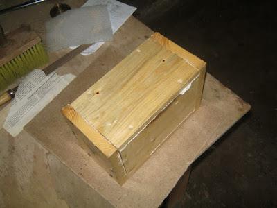торцы деревянной формы