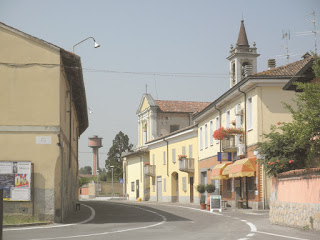 Via Agostino Bassi is the main street in Mairago, where the biologist was born