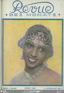 Magazine Revue des Monats Josephine Baker