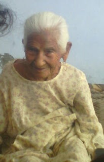 www.letmesay.in image showing a women in her late 80s