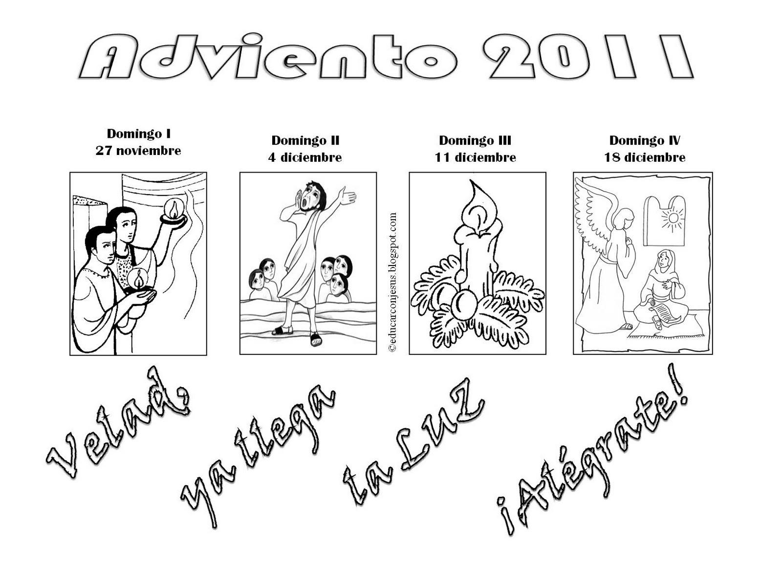 Orden Tercera Dominicana De Ocana El Adviento Para Ninos