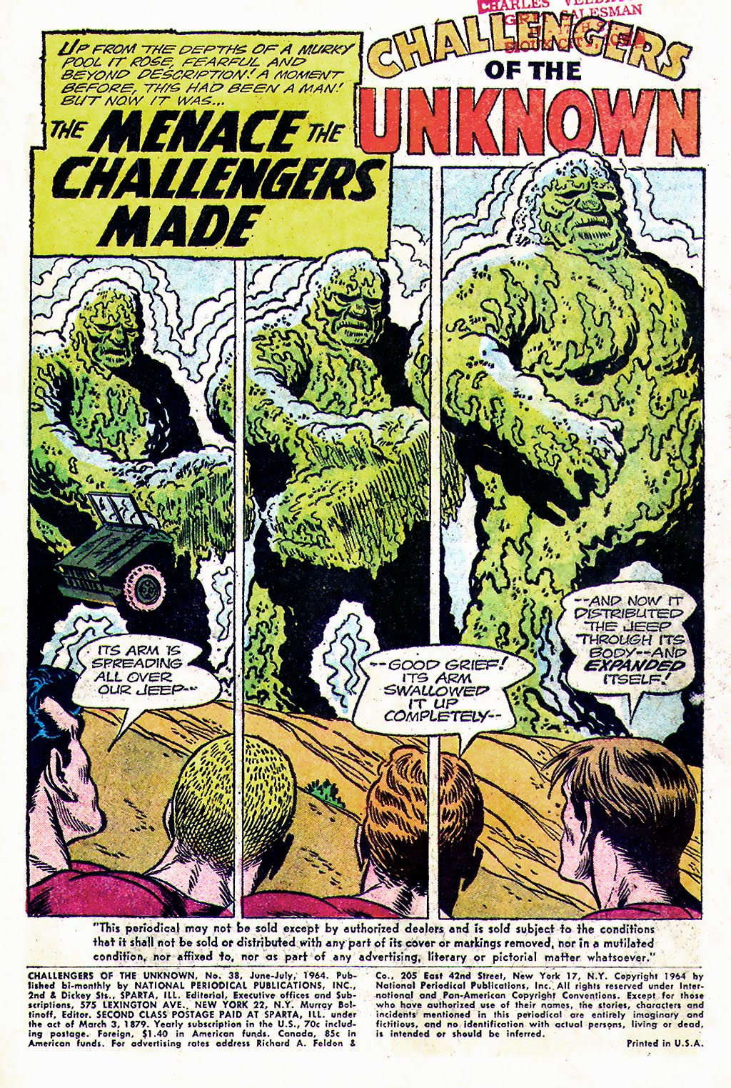 Challengers of the Unknown (1958) issue 38 - Page 3