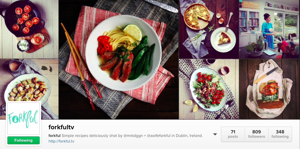6 Irish Food Instagram to follow - Forkful TV