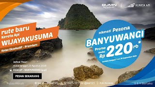 Jadwal Kereta Api Terbaru Ke Banyuwangi - Cilacap PP per September 2018