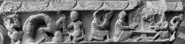 TOULOUSE (31) -  Chapiteaux romans du Prieuré Notre-Dame de la Daurade (1100-1110)