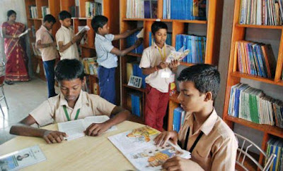 AP Samagra Shiksha - Qualify - Library books -Procurement of Library books to the Government schools in Andhra Pradesh Constitute of committee to select age appropriate books from NCERT&NBT and to make guidelines for use of libraries including number of periods in the Govt Schools - Orders - Issued