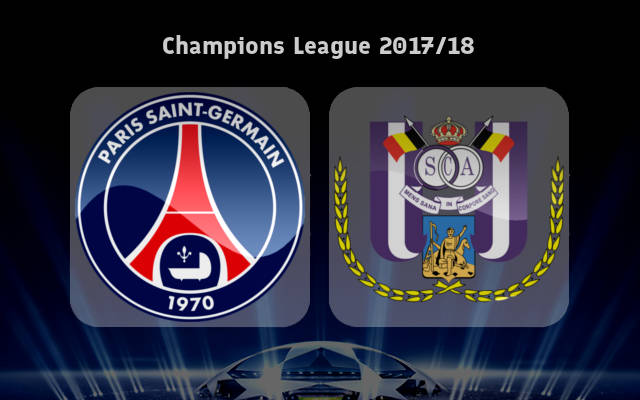 Paris Saint Germain vs Anderlecht Full Match & Highlights 31 October 2017