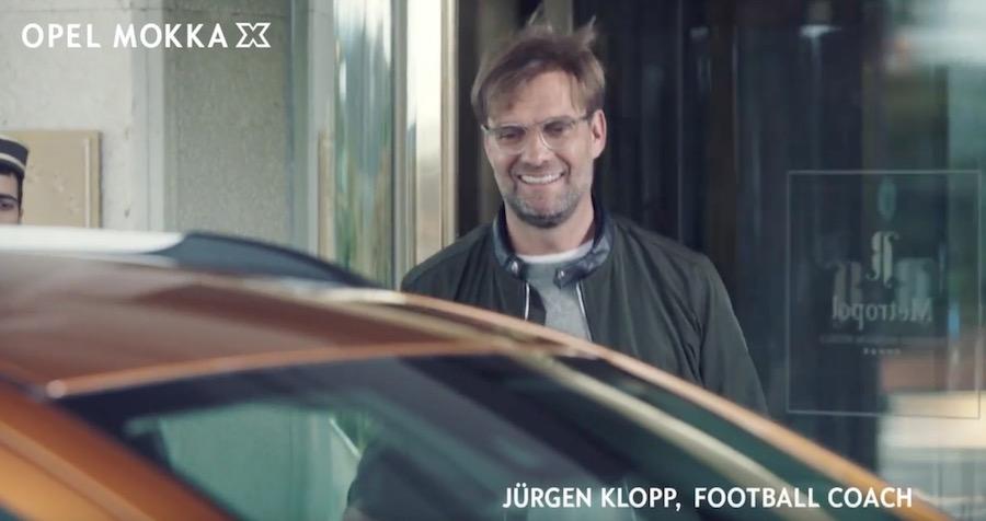 Pubblicità Opel Mokka X con Jurgen Klopp Chi è