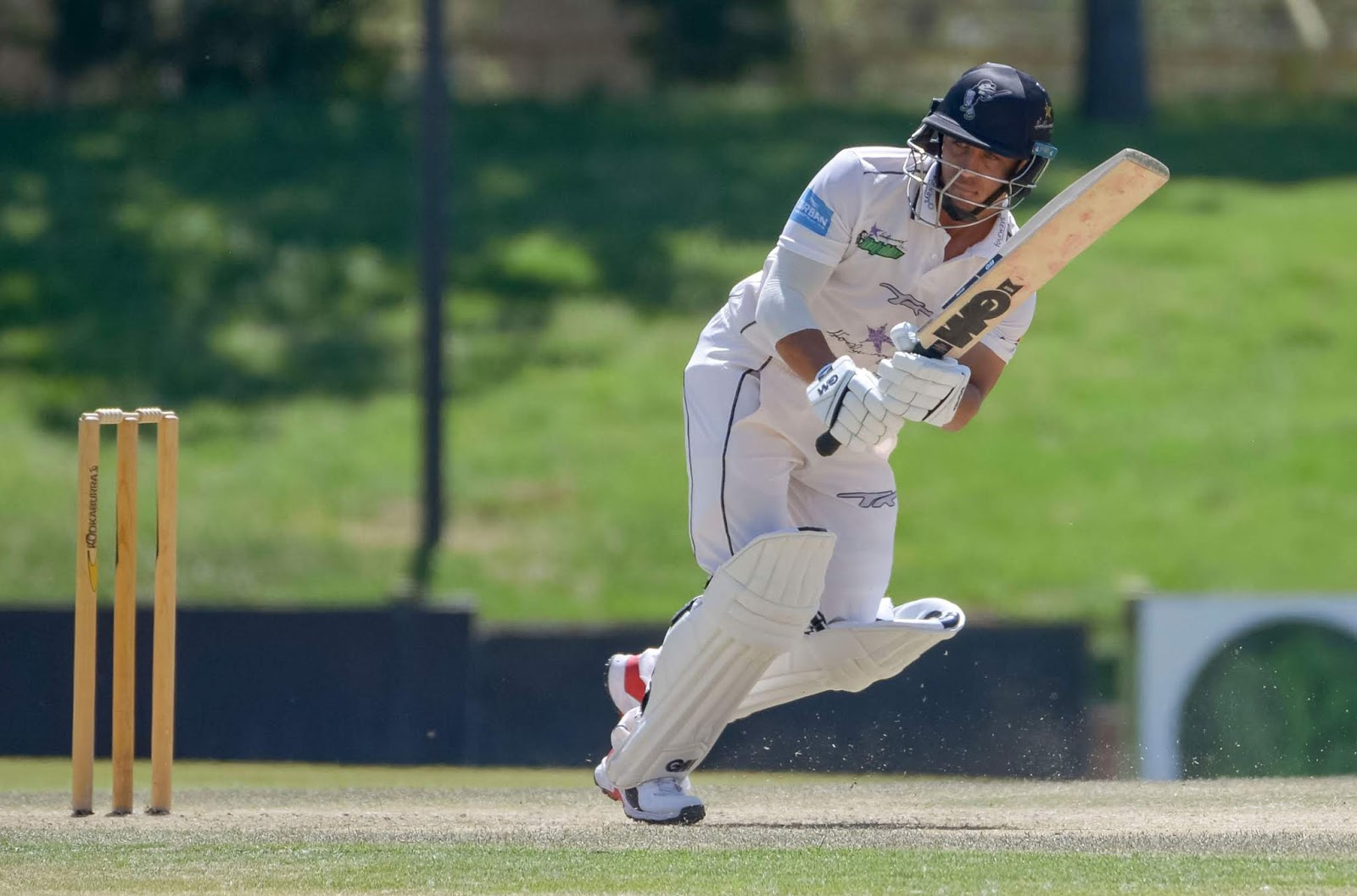 Captain of the Hollywoodbets Dolphins Marques Ackerman top scored with 61 as the Dolphins were bowled out for 235 in the first innings of their CSA 4-Day Domestic Series match with the Imperial Lions at Imperial Wanderers on Monday.