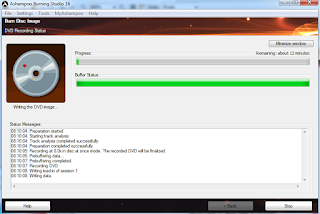 cara memburning file iso ke dvd