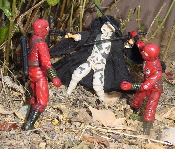 1988 Stormshadow, 2004 Cobra Red Ninja viper