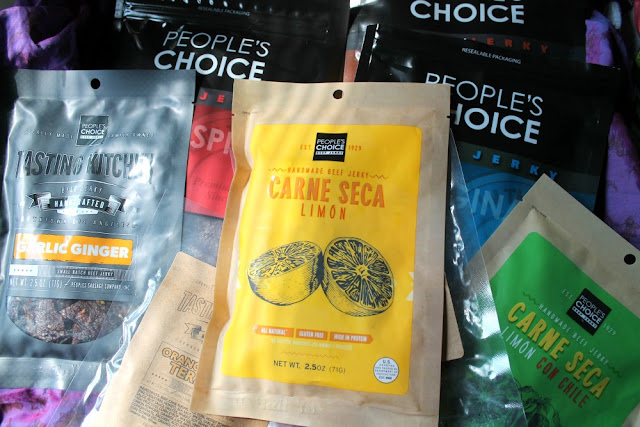 People's Choice Beef Jerky review. Gourmet beef jerky. Unique beef jerky.