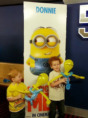 Despicable Me Balloon Minion Carl